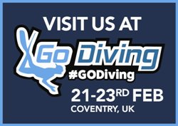 Sportif Dive at GO Diving Show 22-23 Feb 2020
